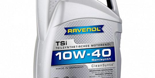 Моторное масло RAVENOL TSI 10w40 5л