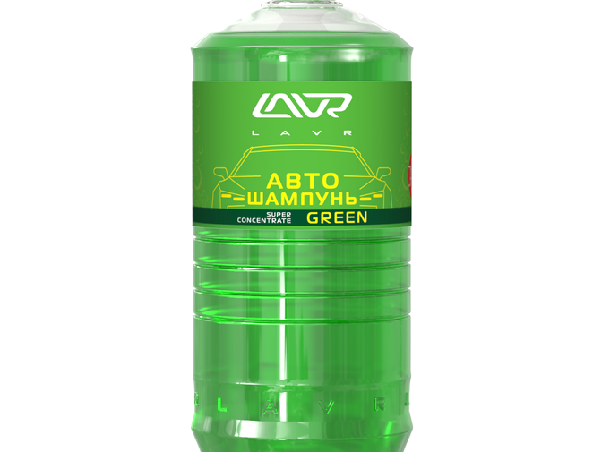 Автошампунь Lavr Green 1л