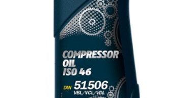 Масло компрессорное Mannol Compressor Oil ISO 46 1л