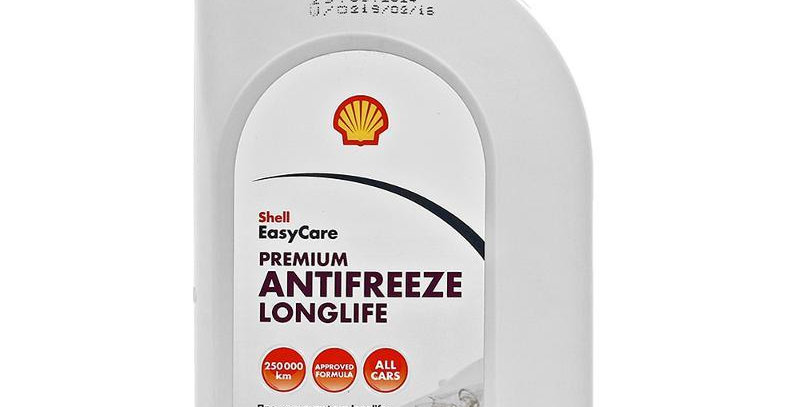Антифриз Shell Premium Antifreeze Longlife Con.1л