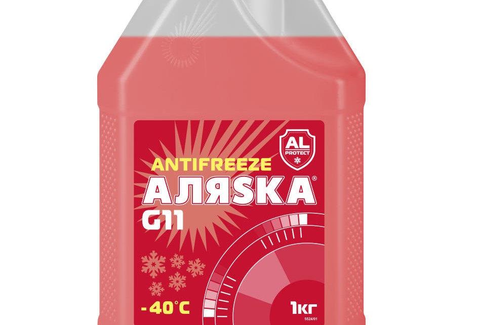Антифриз -40 красный G-11 Аляска LongLife 1л. на розлив