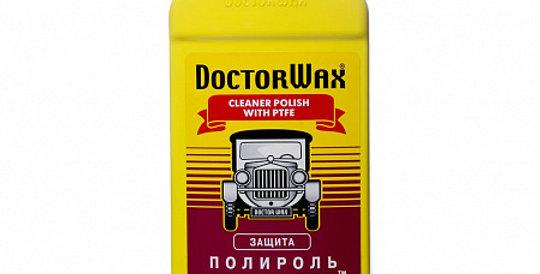 Полироль Полифлон DOCTOR WAX 8227 300мл