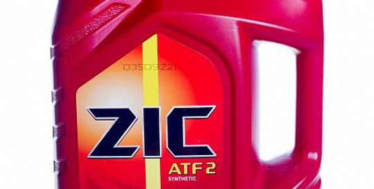 Масло автоматической коробки передач ZIC ATF  II synthetic 4л