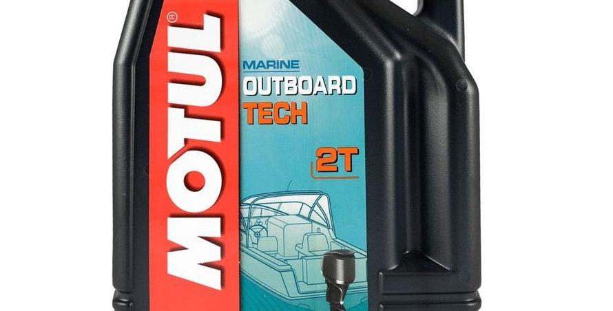 Масло моторное Motul Outboard TECH 2T 5л.