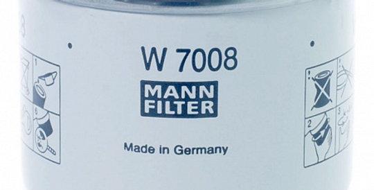 W7008 MANN-FILTER Масляный фильтр