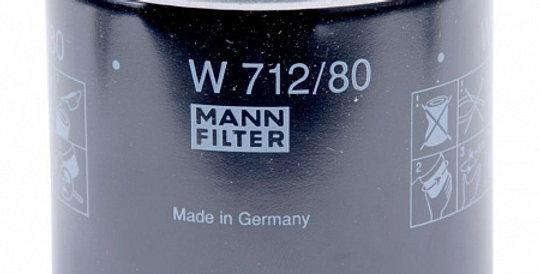 W712/80 MANN-FILTER Масляный фильтр