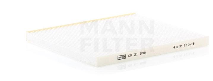 Фильтр салонный MANN FILTER CU21008