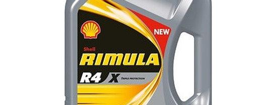 SHELL RIMULA R4 X 15W-40 4л