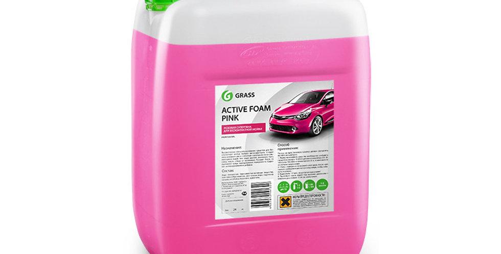 Средство для беcконтактной мойки Active Foam Pink Grass 12кг
