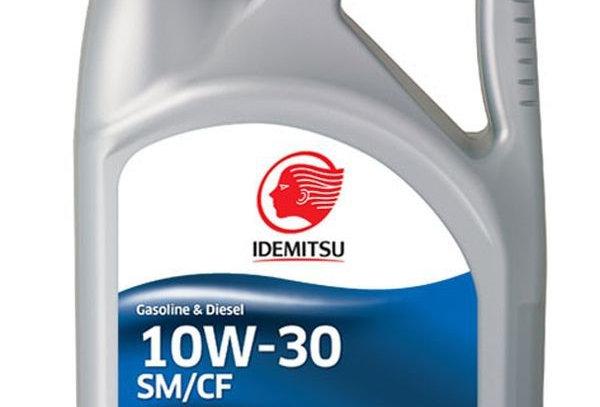 Масло моторное Idemitsu Semi-Synthetic 10w30 4л