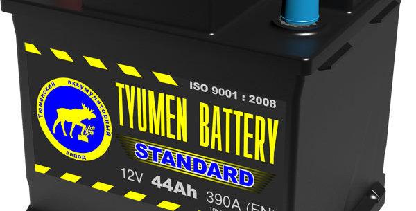 "44 п.п. Tyumen Battery ""STANDARD"" 390A (206*175*190)"