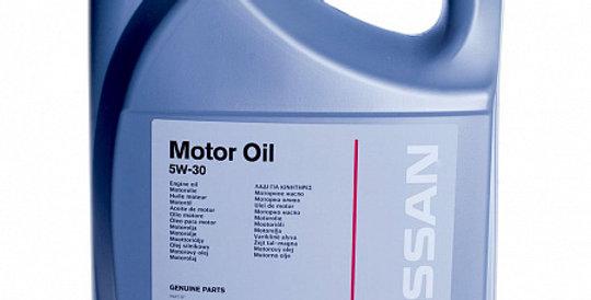 Моторное масло NISSAN Motor Oil 5w30 5л