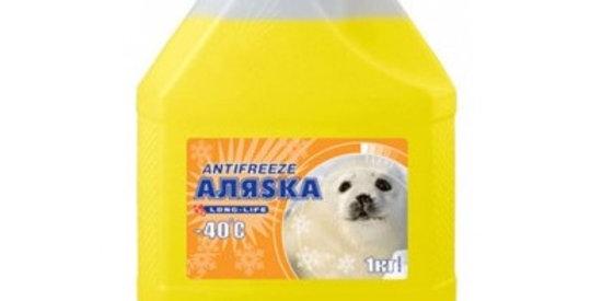 Антифриз -40 желтый  Аляска LongLife 1 кг