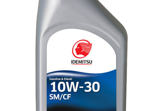 Масло моторное Idemitsu Semi-Synthetic 10w30 1л