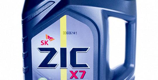 Моторное масло ZIC X7 Diesel 10w40 6л