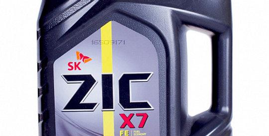 Моторное масло ZIC X7 FE 0w30 4л