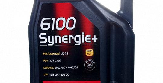 Моторное масло MOTUL 6100 Synergie 10w40 4л