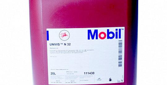 Гидравлическое масло Mobil Univis N32 20L.