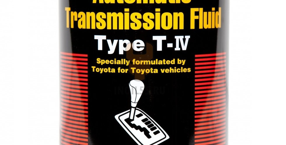 Масло автоматической коробки передач TOYOTA ATF Type T-IV 1л