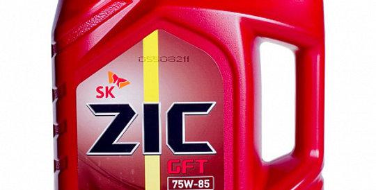 Масло трансмиссионное универсальное ZIC GFT GL-4 75W85 4л