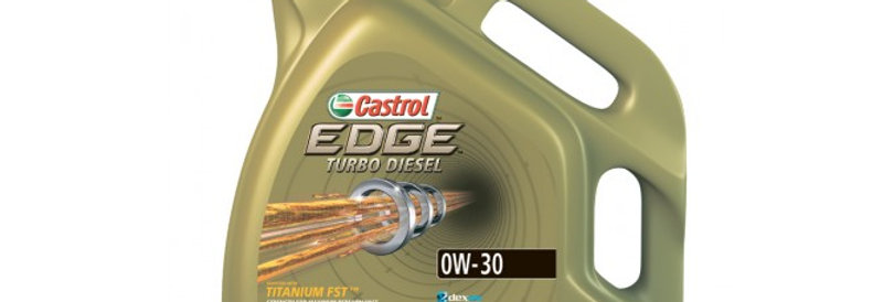 Моторное масло CASTROL EDGE Turbo Diesel 0w30 4л