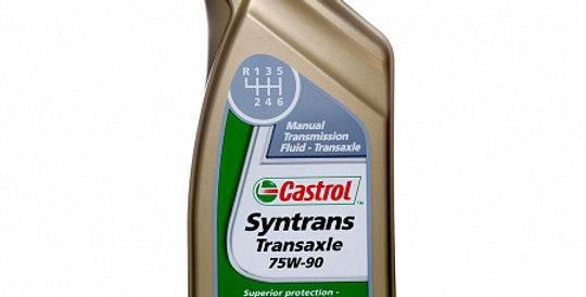 Масло ступенчатой коробки передач CASTROL Syntrans Transaxle GL-4+ 75w90 1л