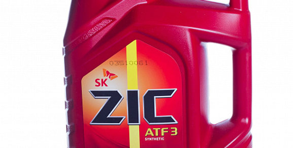 Масло автоматической коробки передач ZIC ATF III synthetic 4л