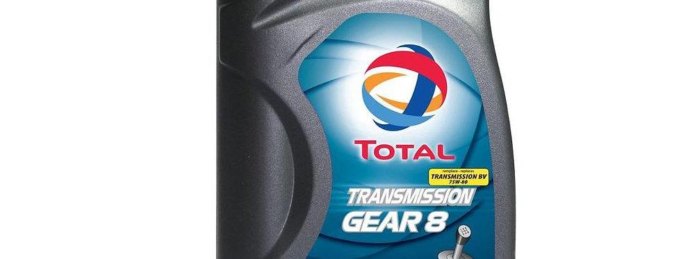 Масло трансмиссионное  TOTAL TRANSMISSION GEAR 8 75W80 1л