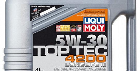 Масло моторное Liqui Moly Top Tec 4200 5w30 5л.