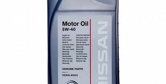 Моторное масло NISSAN Motor Oil 5w40 1л