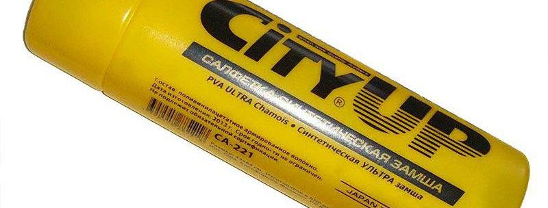 Салфетка синтетическая замша CitiUp Ultra СА-222