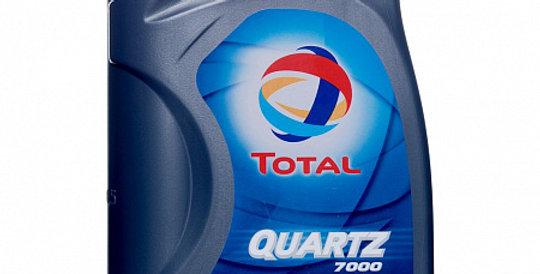 Моторное масло TOTAL Quartz 7000 10w40 1л