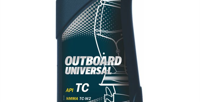 Масло моторное Mannol Outboard universal TC 1л.