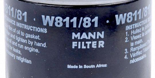 W811/81 MANN-FILTER Масляный фильтр