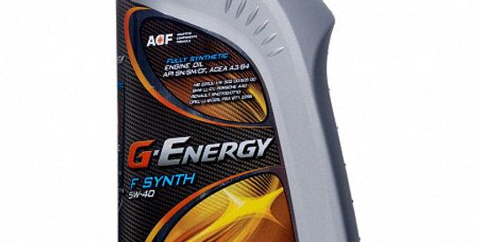 Моторное масло G-ENERGY F Synth 5w40 1л