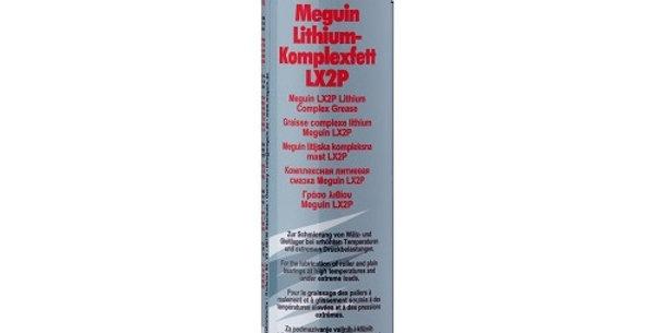 Литиевая смазка Meguin LX2P 400г