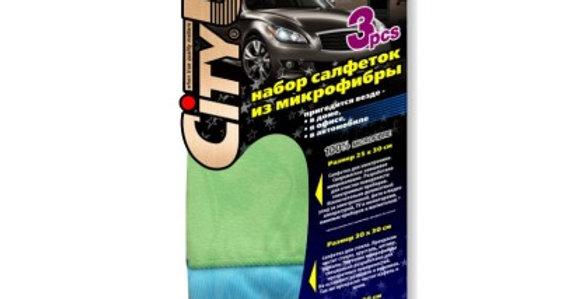 Набор салфеток из микрофибры CitiUp Set for all СА-118