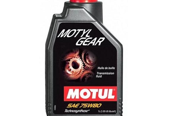 Масло трансмиссионное универсальное MOTUL Motylgear GL-4/5 75w80 1л