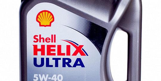 Моторное масло SHELL Helix Ultra Diesel 5w40 4л