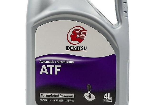 Трансмиссионное масло Idemitsu для АКПП ATF 4л.