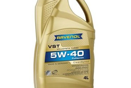 Моторное масло Ravenol VST 5w40 4л.