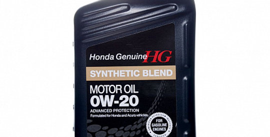 Моторное масло HONDA Synthetic Blend 0w20 1л