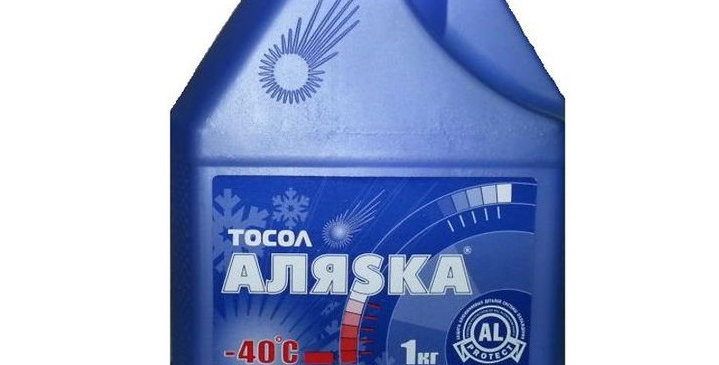 Тосол Аляска -40 1кг