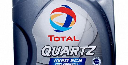 Моторное масло TOTAL Quartz INEO ECS 5w30 4л