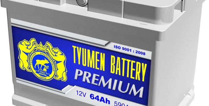 "64 о.п. Тyumen Battery ""PREMIUM"" 590А (242*175*190)"