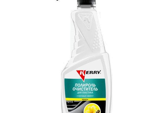 Полироль очиститель для пластика Kerry ваниль 500мл