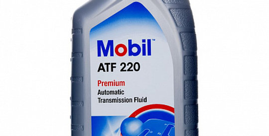Масло автоматической коробки передач MOBIL ATF 220 Dexron II 1л