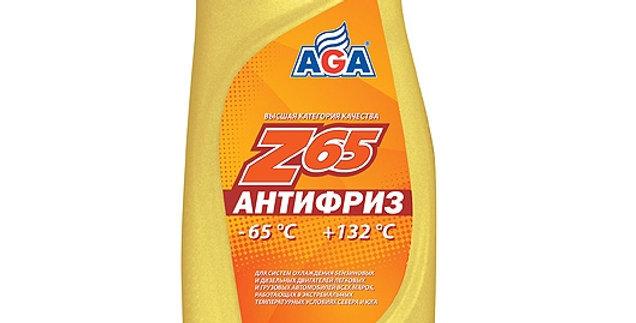 Антифриз AGA Z65 желтый-65 0,946л