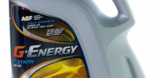 Моторное масло G-ENERGY F Synth 5w30 4л