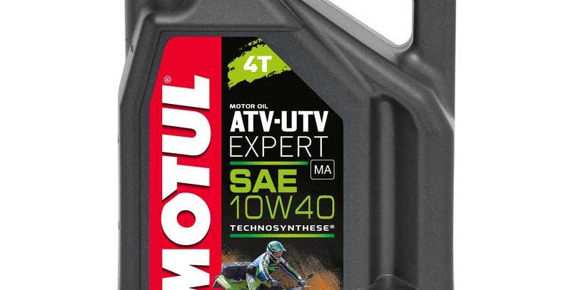 Моторное масло MOTUL ATV-UTV Expert 4T 10w40 4л